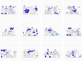 10个免费的可商用插画素材网站